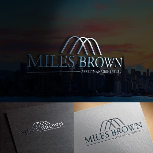 Logotipo Miles Brown