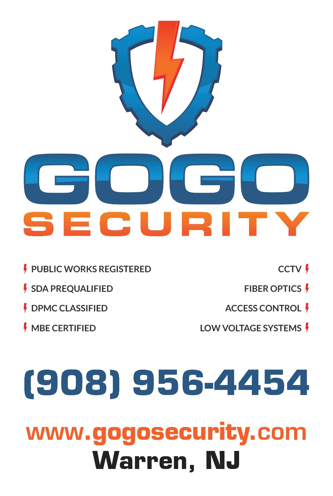 Van Signage for Security Contractor