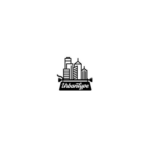 Creative logo for copywriter