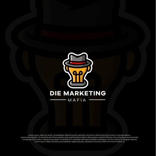 logo cocnept for die marketing