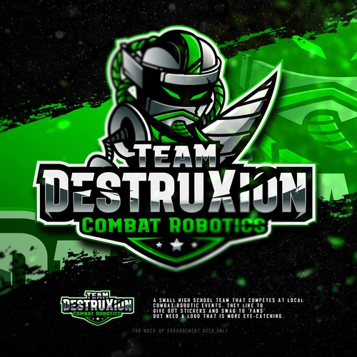 High School Combat Robotics Team needs SUPER COOL logo