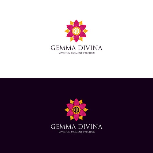 Brilliant and luxury logo for jewelry shop