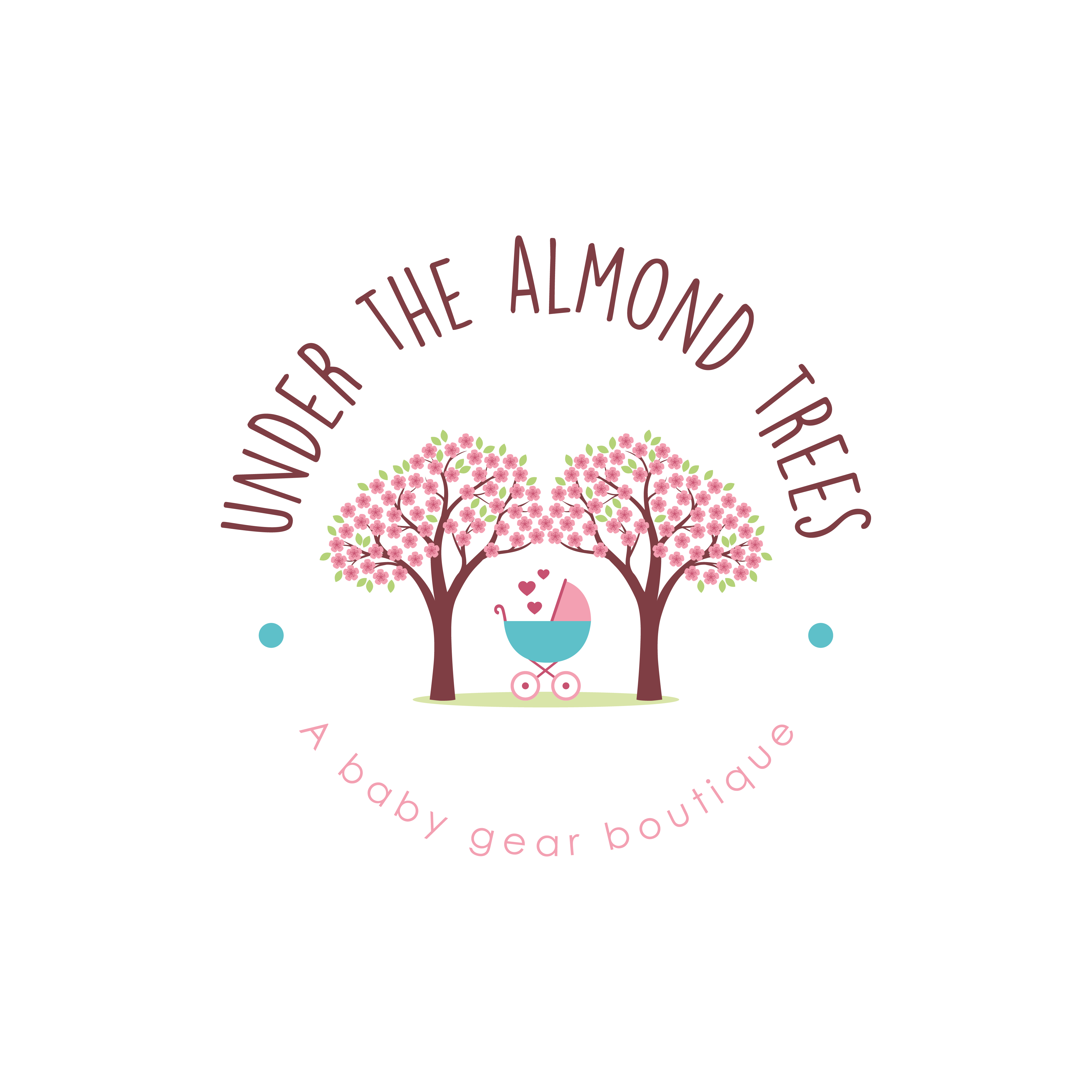 Design a captivating logo for baby gear store Under the Almond Trees!