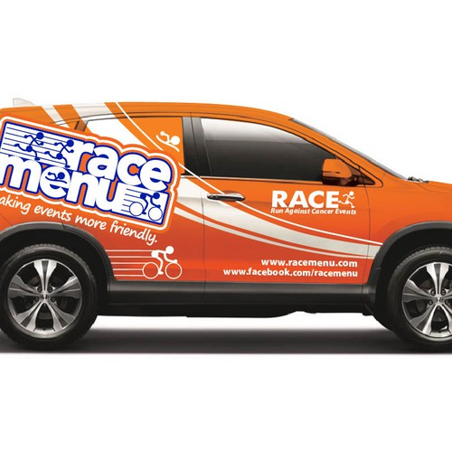 Let's make an AWESOME & AMAZING ORANGE vehicle wrap for a 2013 Honda CR-V!
