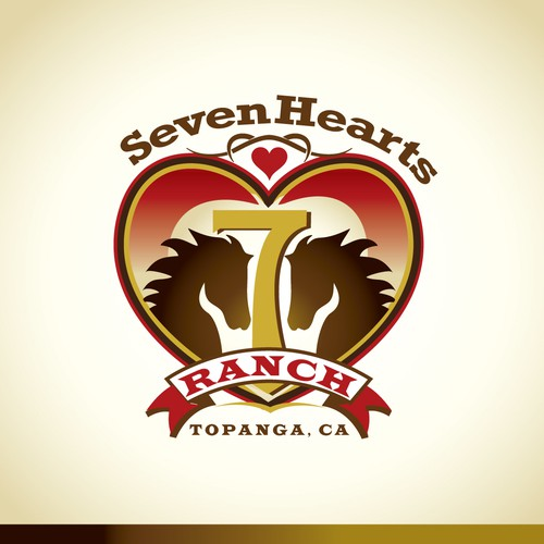 7 Hearts Ranch needs a new logo