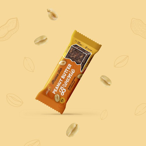 Healthy peanut butter snack bar
