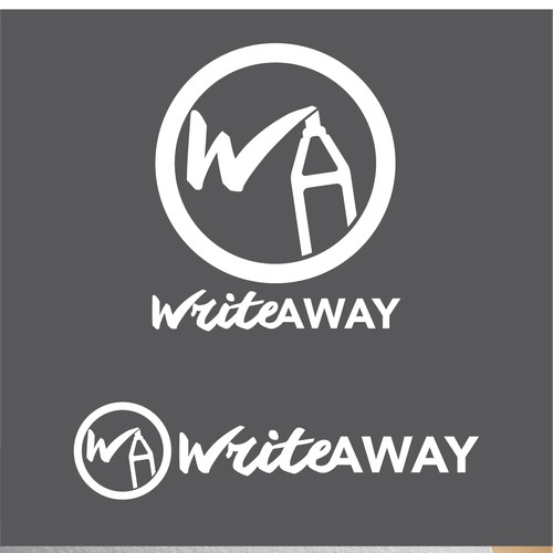 Create a brand for a unique architectural product called Write Away!