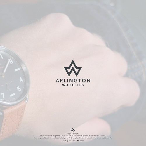 Design a trustworthy logo for an online shop selling pre-owned and vintage luxury wristwatches