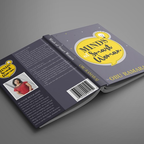 Book Cover Design for Minds of Smart Woman