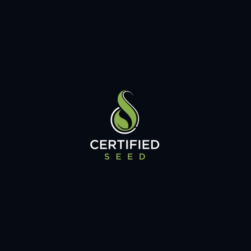 Logo concept for certified seed