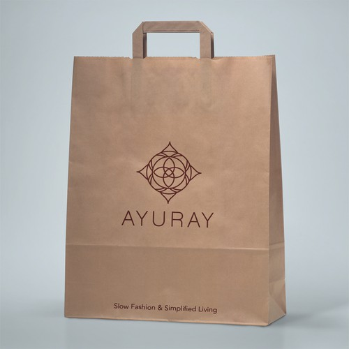 logo for 100% Organic or Sustainable fabrics Ayuray