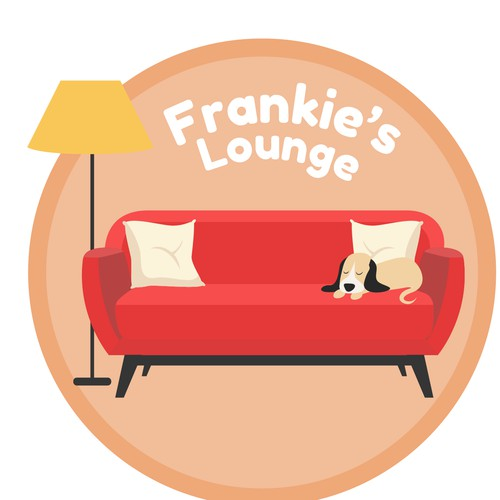 Logo for a virtual relaxing lounge chatting area