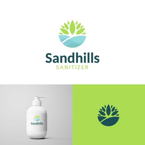 Logo concept for Sandhills Sanitizer
