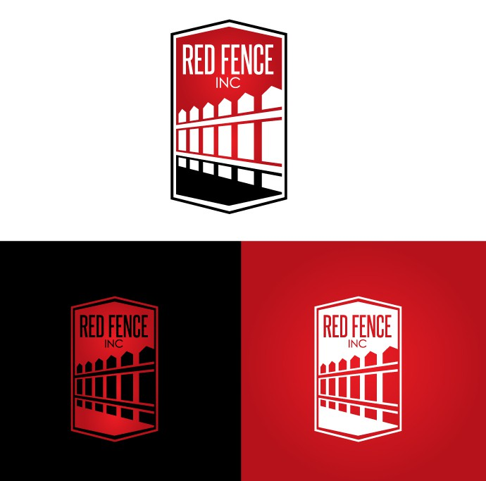 Create a logo that shows wood fence.  Vintage or modern is fine.