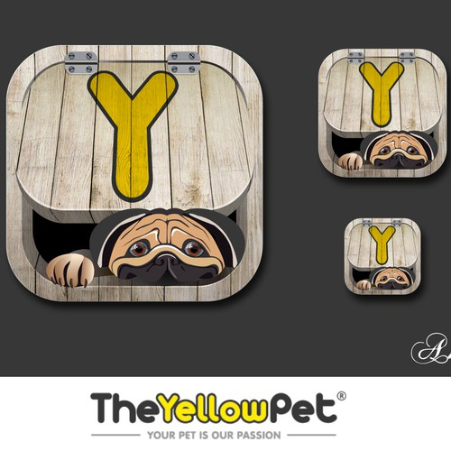 Create avatar and favorite icon for TheYellowPet