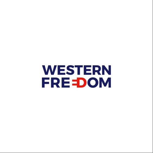 Logo design for Western Freedom
