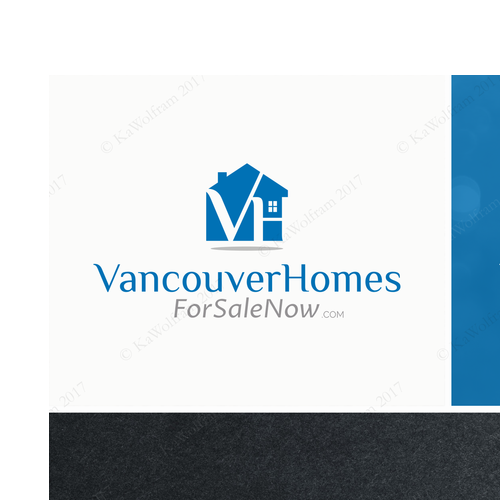 logo for real estate web portal