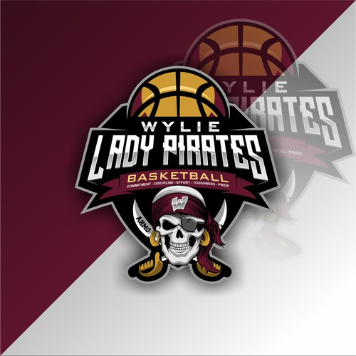 Girls Basketball Program Logo