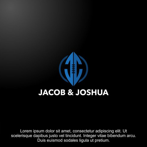 JJ Masculine letter logo