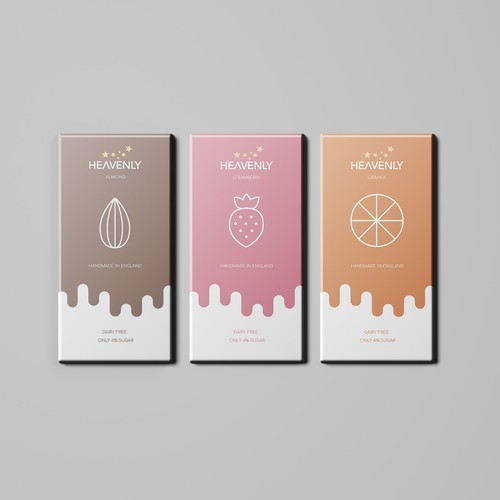 Modern Chocolate Bar Design