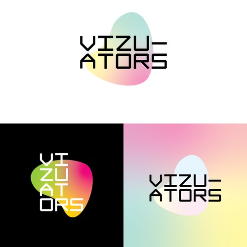 Bold and modern logo for a data visualisation company