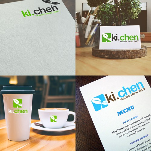 Create our logo and identity for a young and fresh foodie start up (in Kenya)