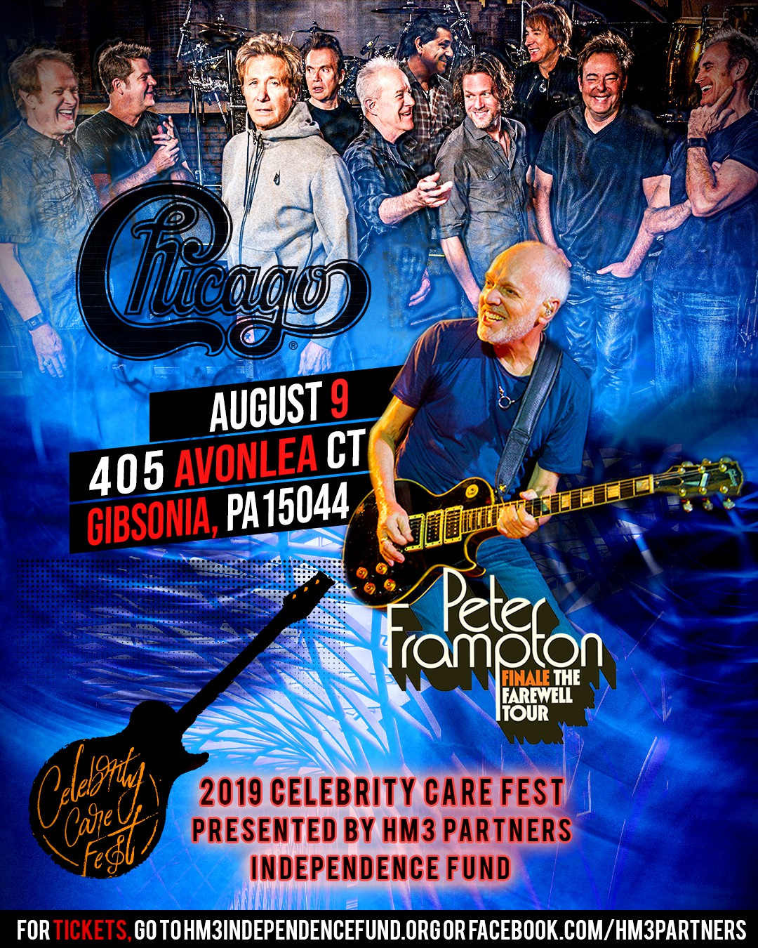 Peter Frampton and Chicago Private Concert