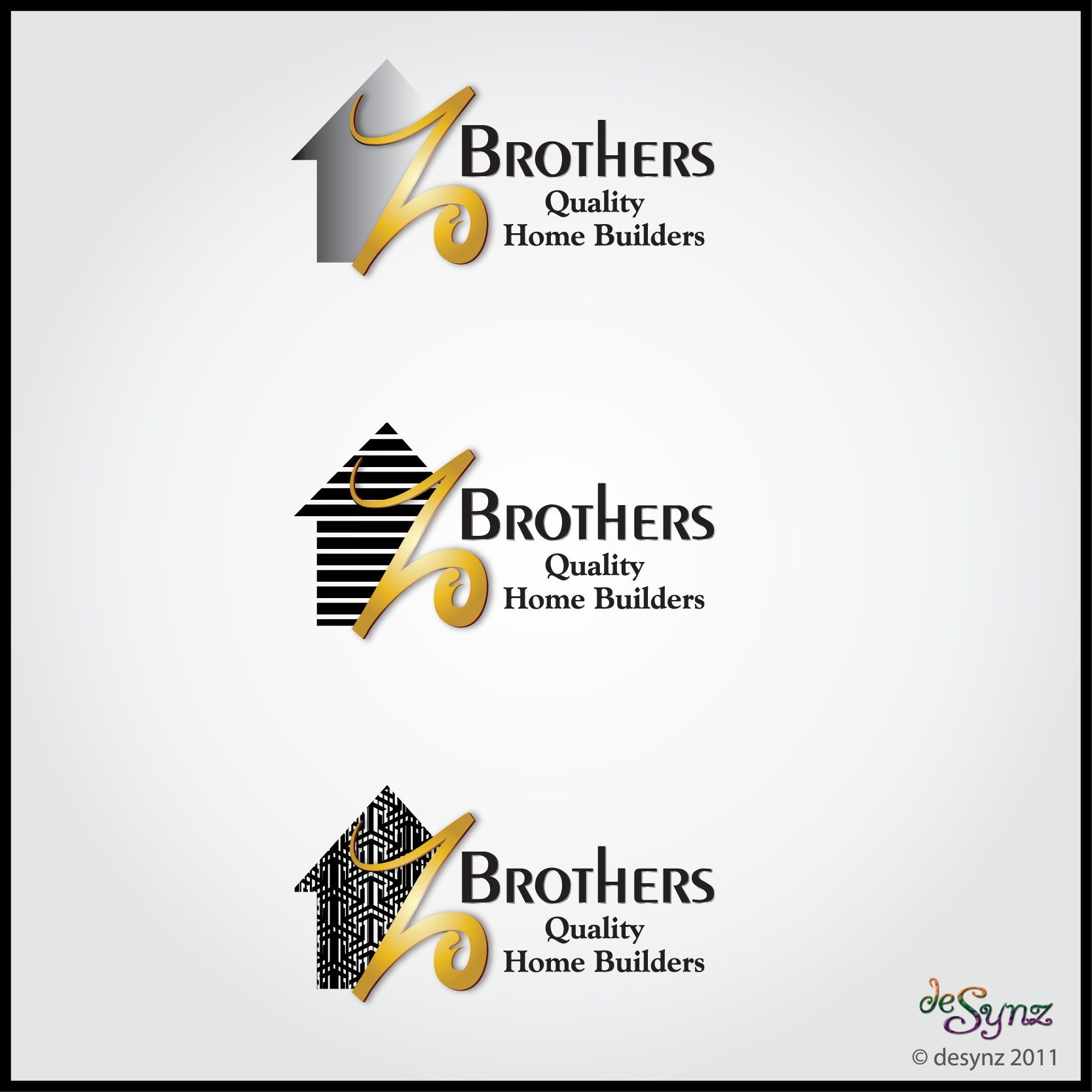 Create the next logo for Z Brothers Quality Builders