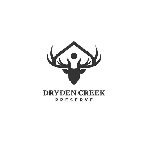 Logo for  a new business venture in the hunting real estate market
