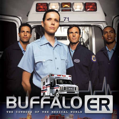 """Buffalo ER"" television show pitch document design!"