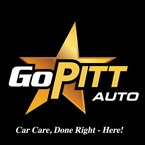 Go Pitt Auto - Logo Design