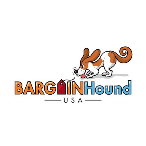 Logo design for an online bargain business