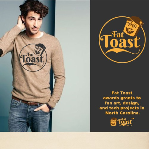Create a whimsical logo for Fat Toast