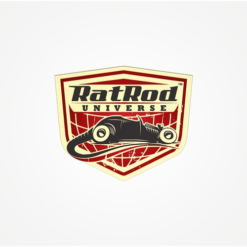 Create the next logo for Rat Rod Universe
