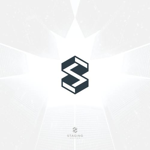 S building logo