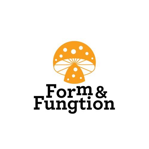 Abstract logo for Micro dose mushroom company