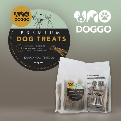 Logo for Premium Dog Treats