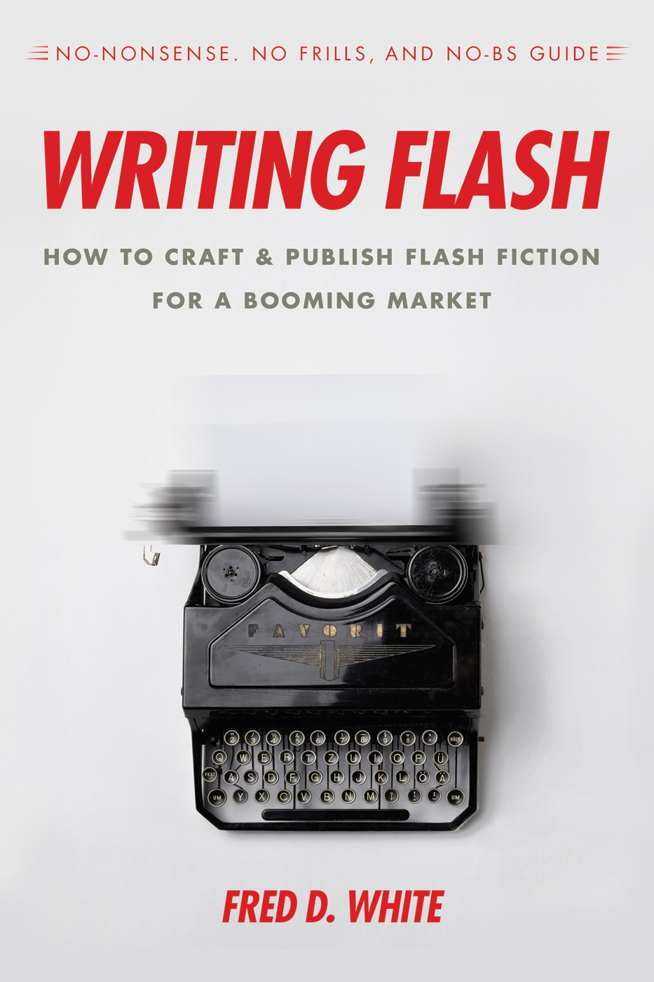 """""""Writing Flash"""" book cover"""