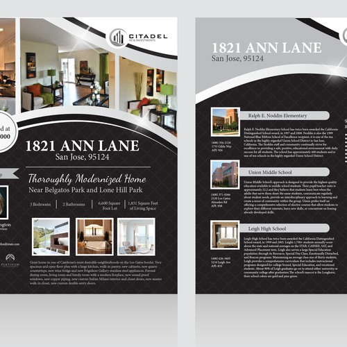 Modern Open House Flyer needed