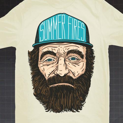 Summer Fires Merchandise Tshirt