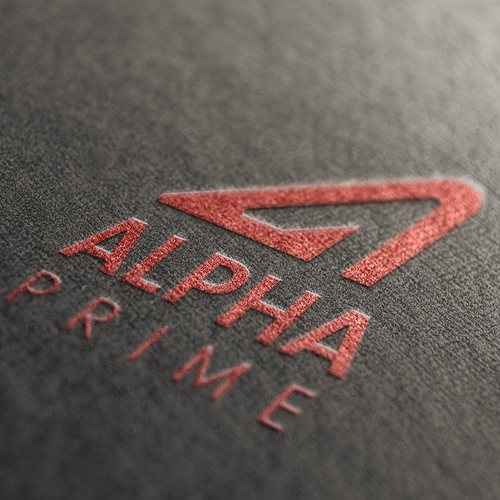 Bold logo proposal for athletic apparel company