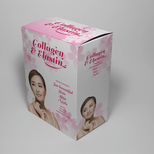 collagen & elastin luxury instant powder drink - Packaging