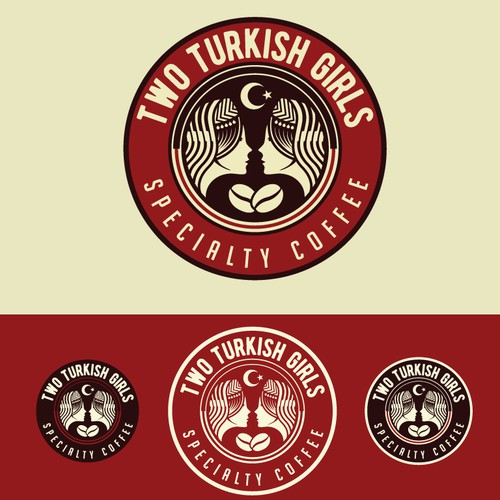 two turkish girls logo