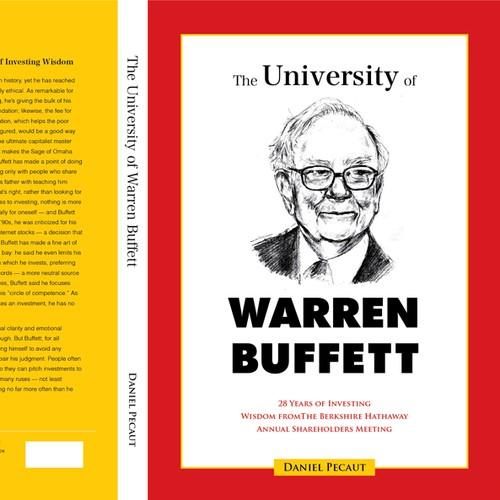 "Design a Eye-Catching Book Cover for ""The University of Warren Buffett"""