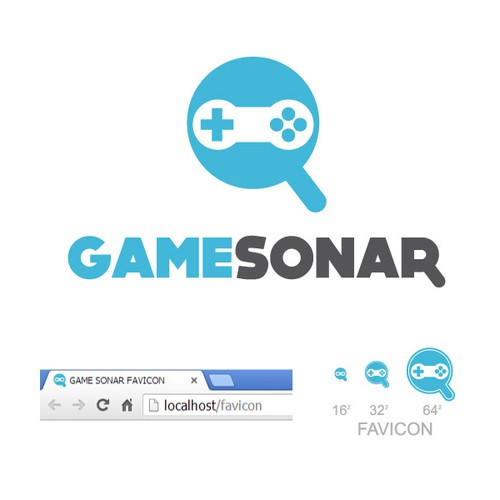 Create logo for gaming software