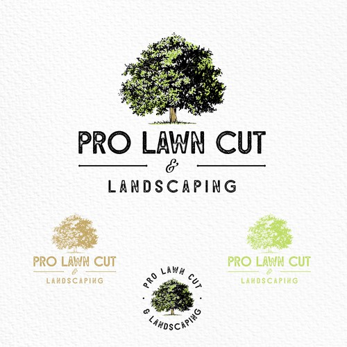 Logo for landscaping company
