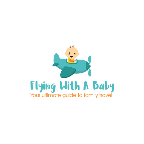 """Concept design for """"Flying With a Baby"""""""