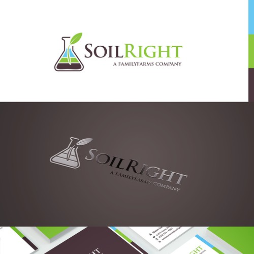 Logo and brand identity for Soil consultancy