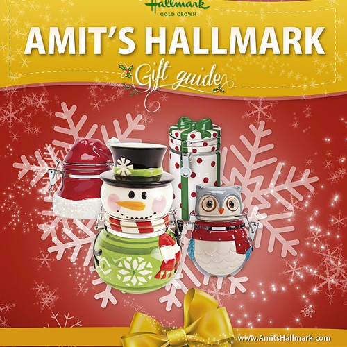 book or magazine design for Amit's Hallmark