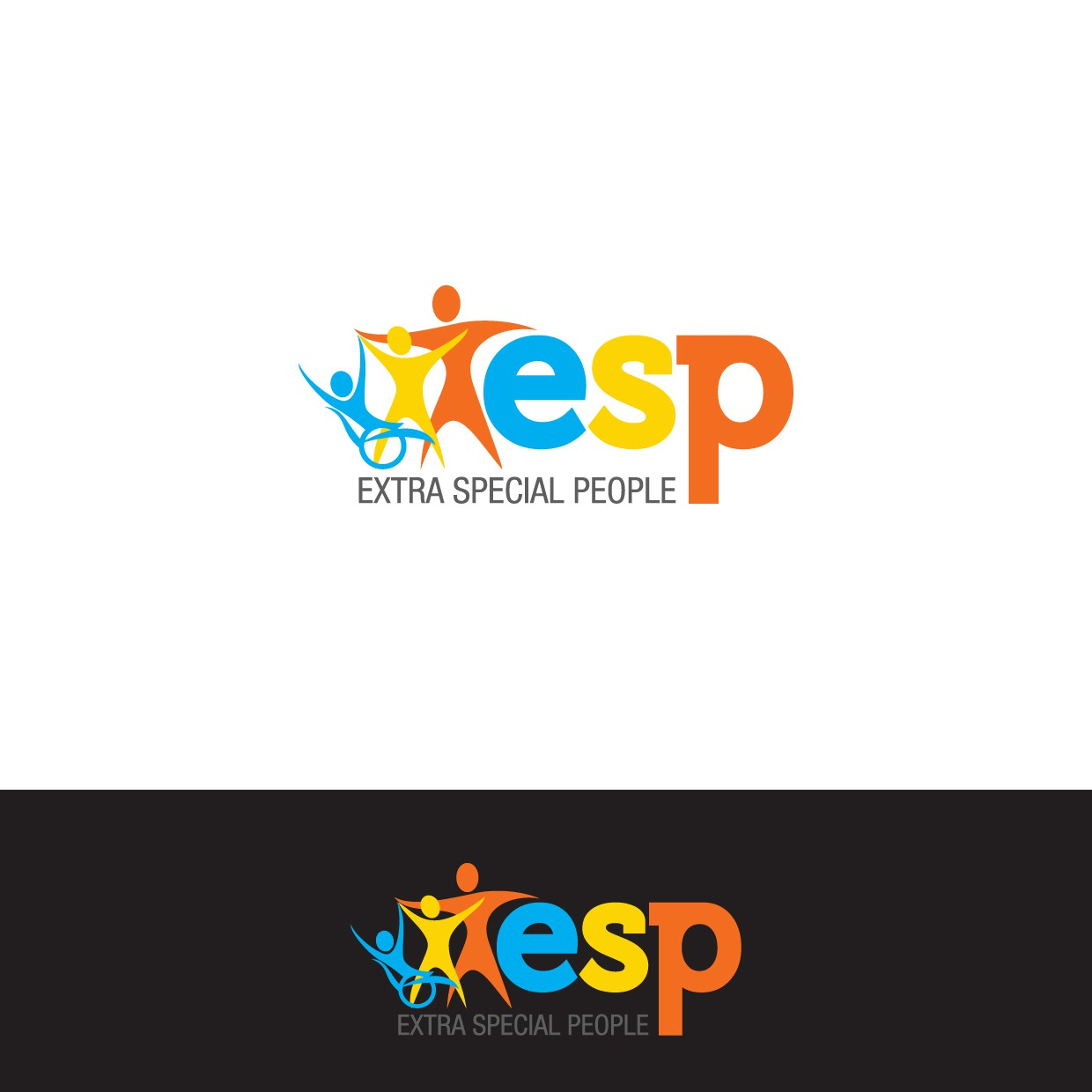 create a logo for Extra Special People, Inc.-- and you'll change lives!